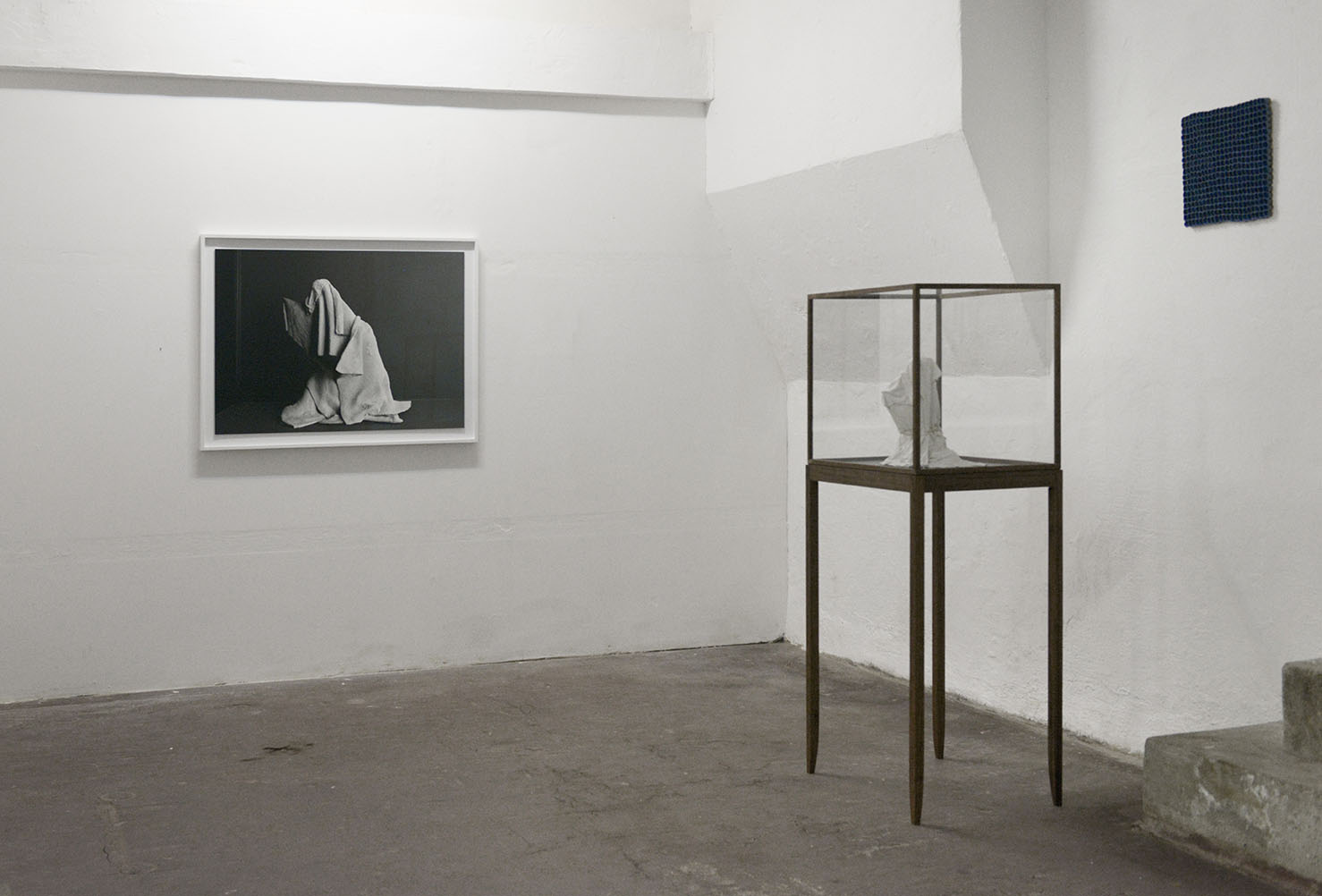 """""""The whims of the eyelid"""" (installation view)."""