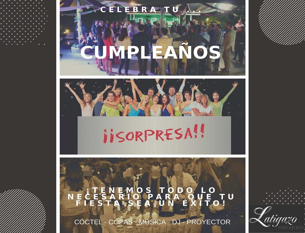 Fiestas de cumpleaños 2018 en restaurante El Latigazo.jpg