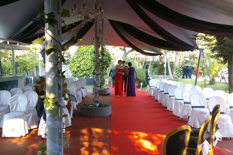 Boda - Ceremonia - Carpa Private. Latigazo restaurante