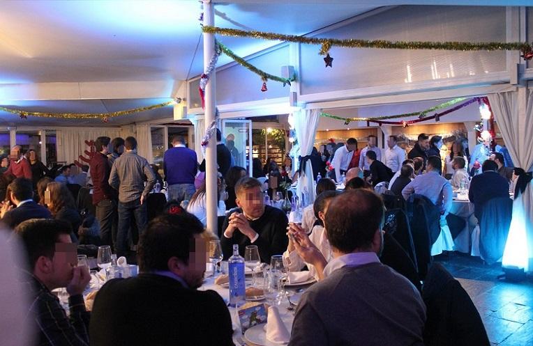 Evento empresa - Navidad. Latigazo restaurante