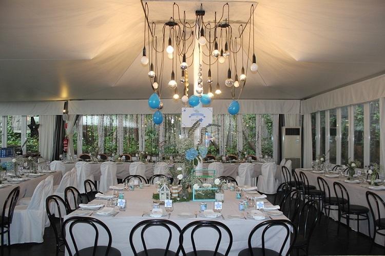 Salas en exclusiva para bautizos - Sala Principal - Restaurante Latigazo