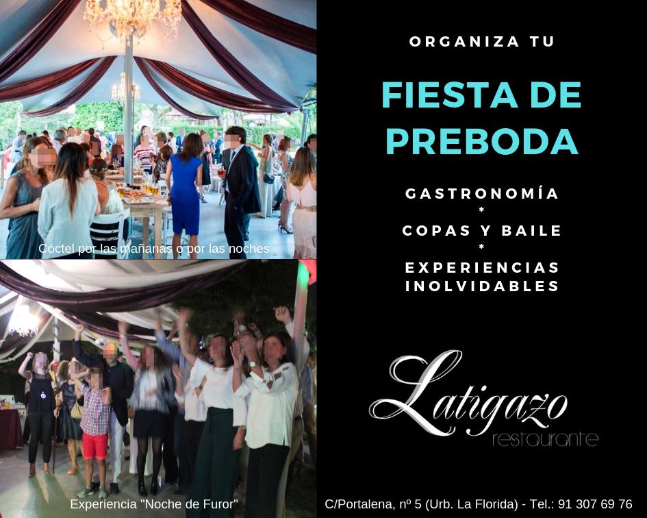 Fiestas de preboda en restaurante de Madrid. El Latigazo.png