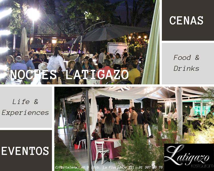 cenas en terraza con jardin El Latigazo en Aravaca.png