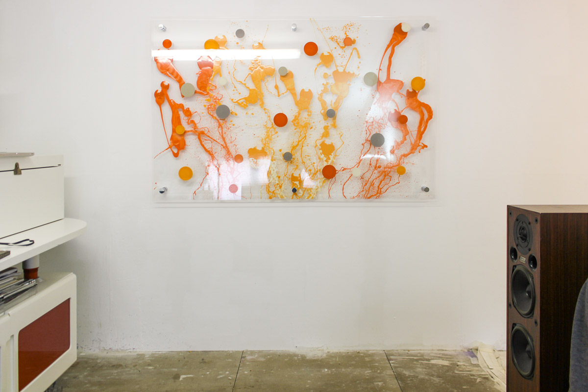 Edward Ball Artwork on perspex (the sea in orange)-0709.jpg