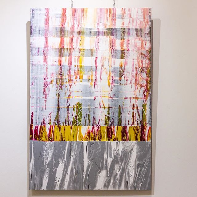 After seeing the Abstract Expressionist exhibition At the Royal Academy I realise just how my art is very influenced by this amazing generation of painters. Here is one of my latest paintings 'Evolution, Versao Portuense', it is currently at @imitatemodern #abstractexpressionism #contemporaryart #abstractart #paintingtomusic