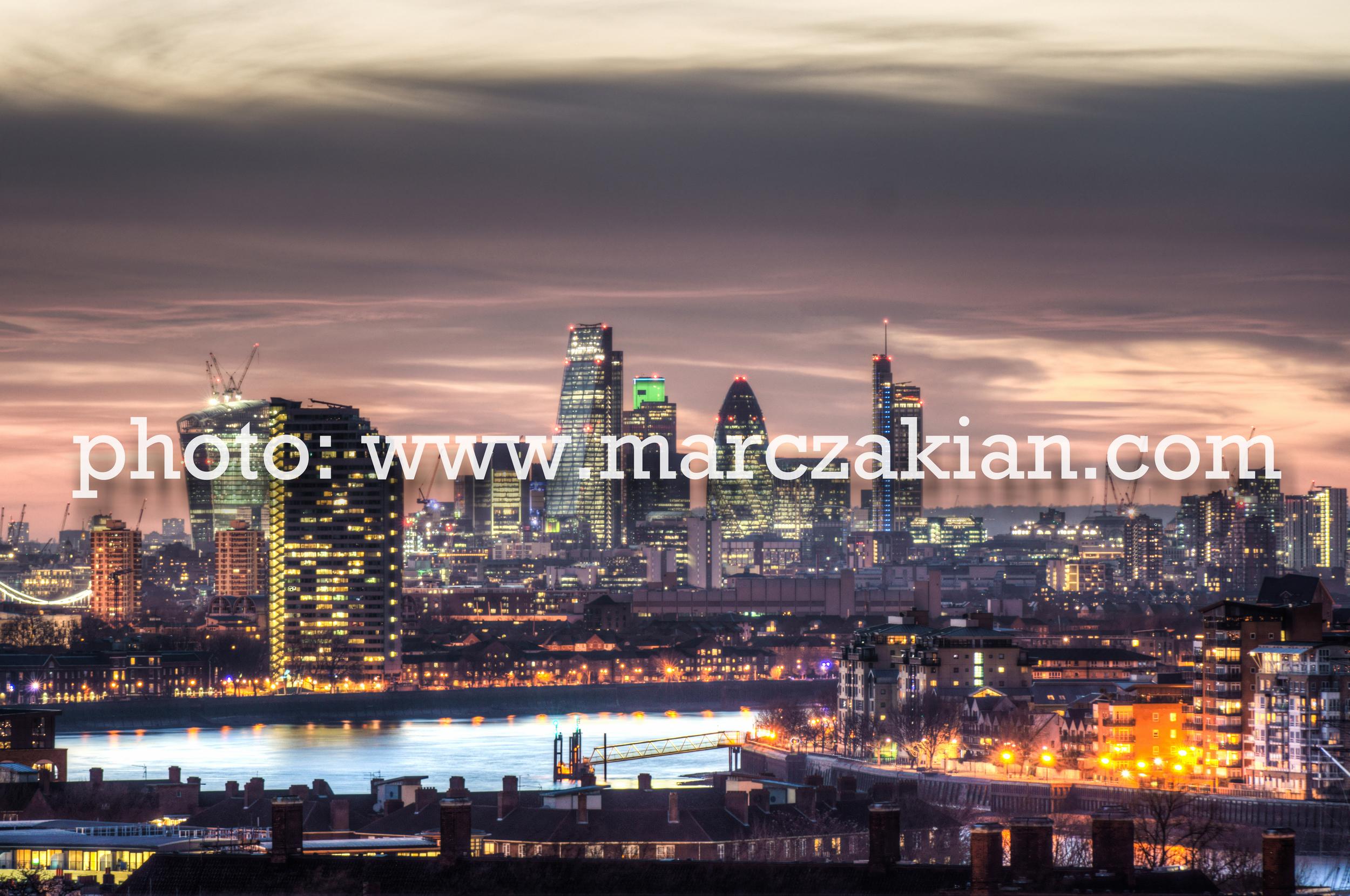 city of london skyline at dusk (1 of 1).jpg