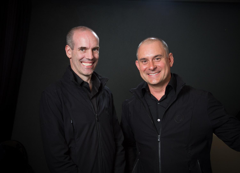 Peter Cook & Matt Church