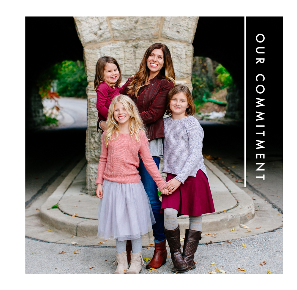 - Kristin, our founder, started Bird's Tail Designs with a mission to make other women feel strong and beautiful. As a mother of three girls, she is committed to showing her daughters the importance of giving back and raising future generations of females who will do good in the world.