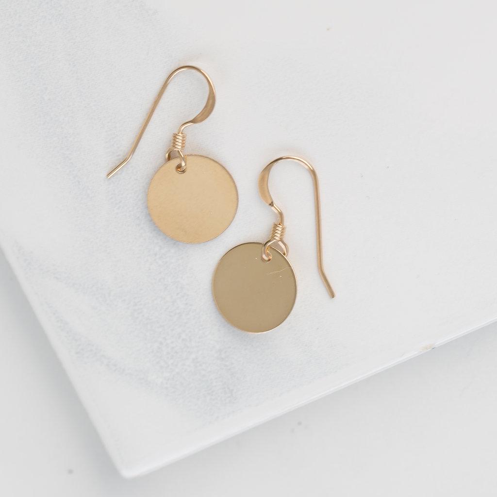 Goddess Medallion Earrings