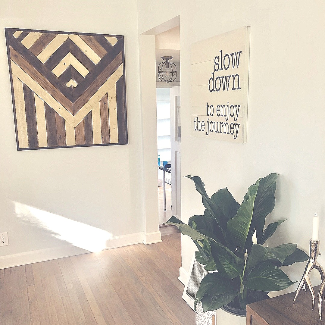 """A look into onE, little corner of our new home... - """"Buy less, choose well."""" ~ Vivienne Westwood"""