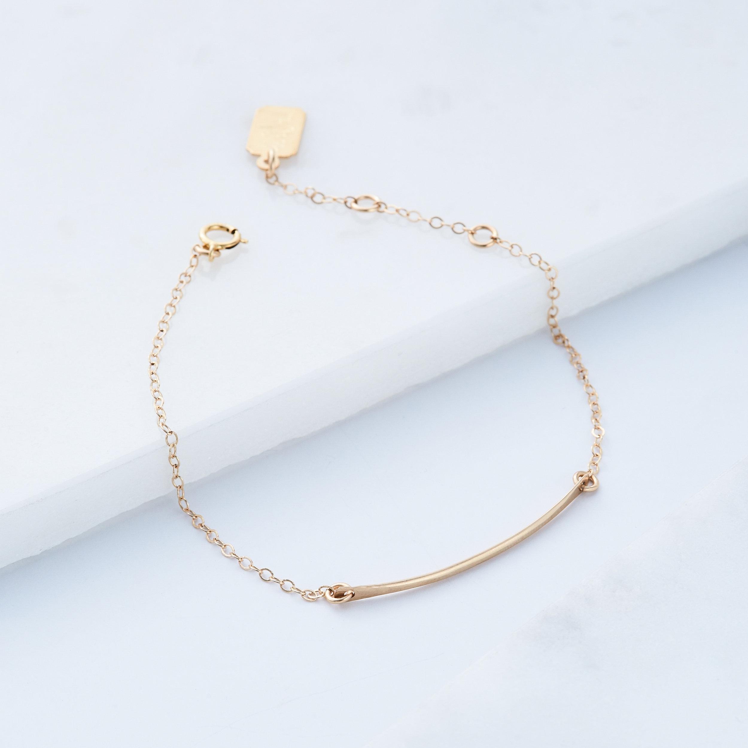 Minimalist Bar Bracelet