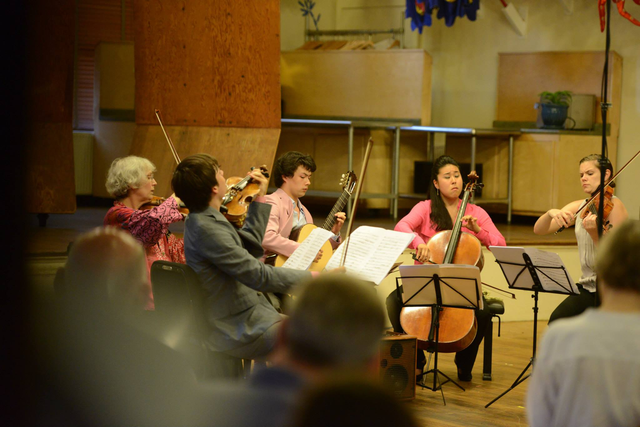 Marlboro Festival  ||  Boccherini 'Fandago' Quintet with Francisco Fullana, Lucy Chapman, Sean Shibe, and Megan Griffin (2013)