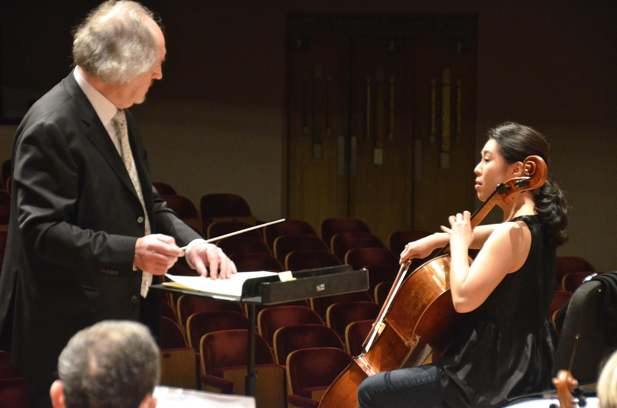 Deborah Pae and Maestro Jacques Van Herenthals (2015)