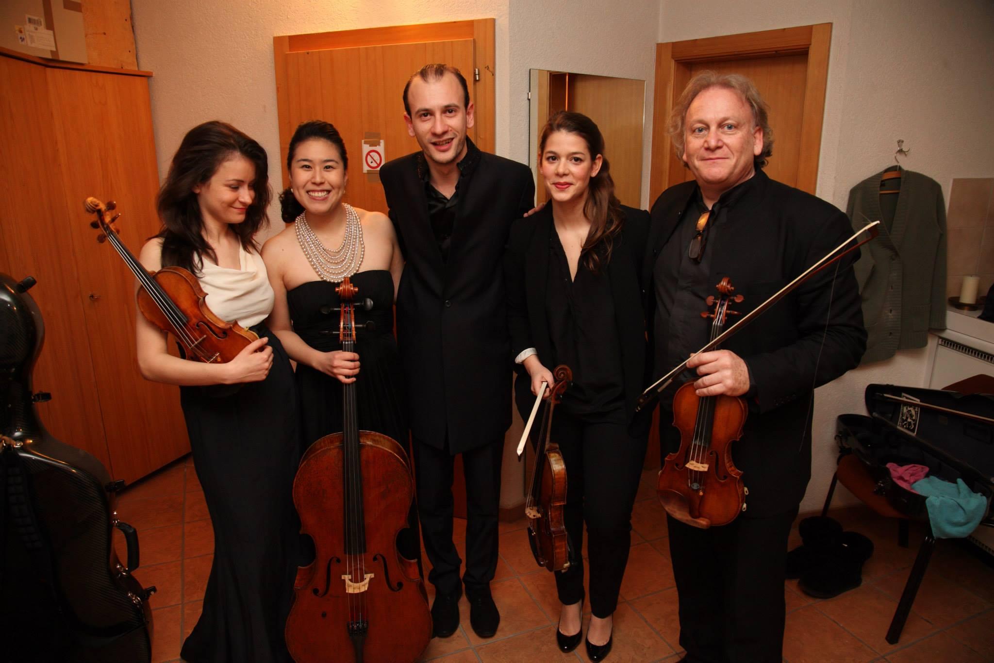 Crans-Montana Classics (2015): Liya Petrova, Deborah Pae, Ashot Khachatourian, Marie Chilemme, Michael Guttman