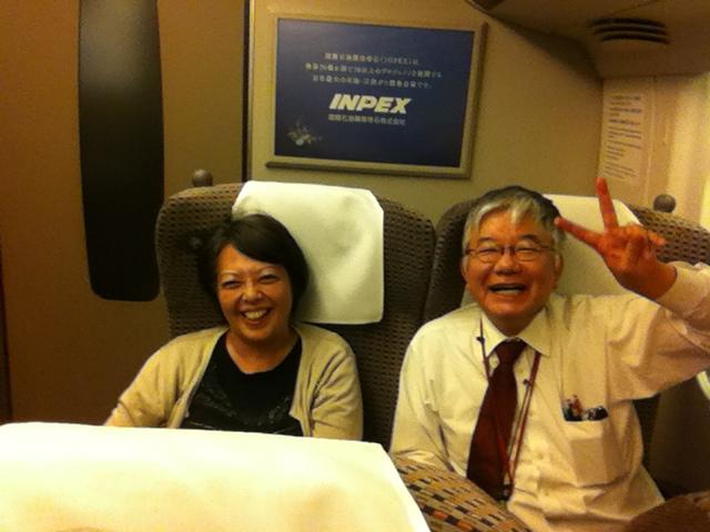 Violinists Yuzuko Horigome and Hiroyuki Yamaguchi