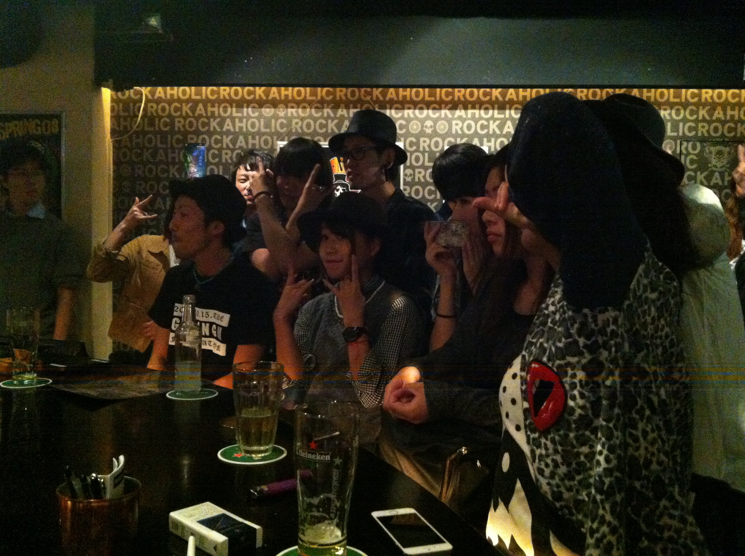 Shibuya punk rock bar culture