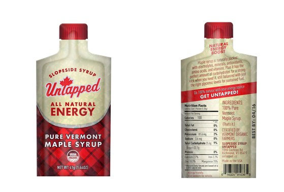 Energy gel in a flannel package? Yes please!