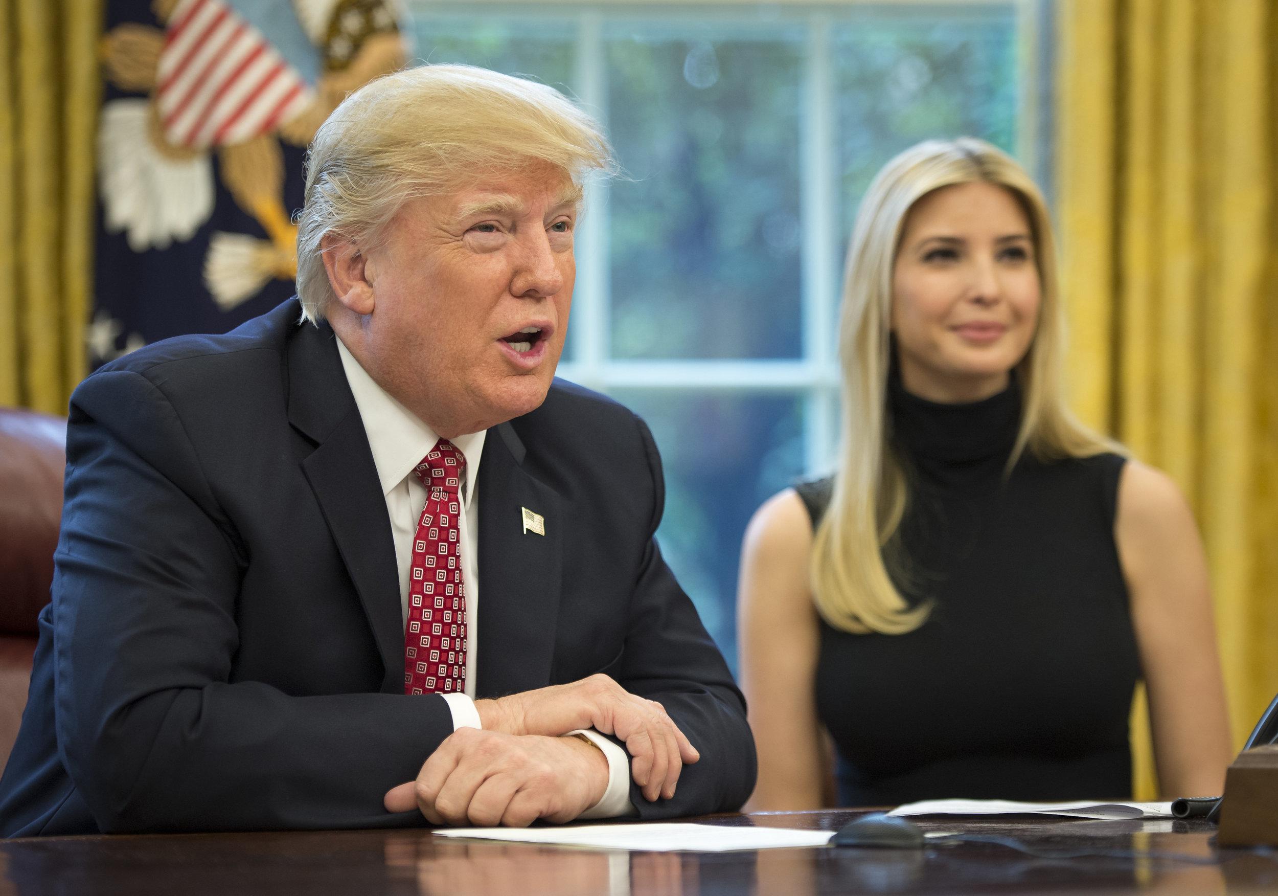 President Trump Talks to ISS Crew