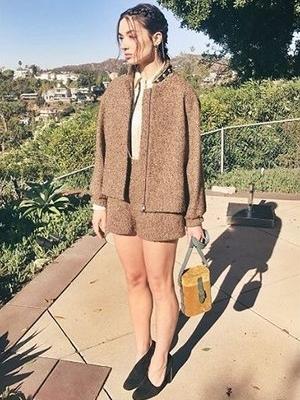 @CrystalMReed  with the ODP Mini Safari in Los Angeles
