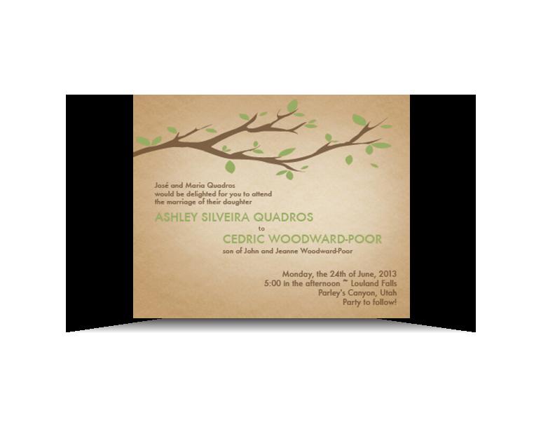 Wedding Invitation, Print