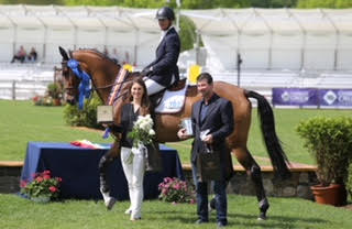 Mclain Ward and HH Carlos Z Top $35,000 Grand Prix of North Salem, presented by Karina Brez Jewelry - EQUISEARCH