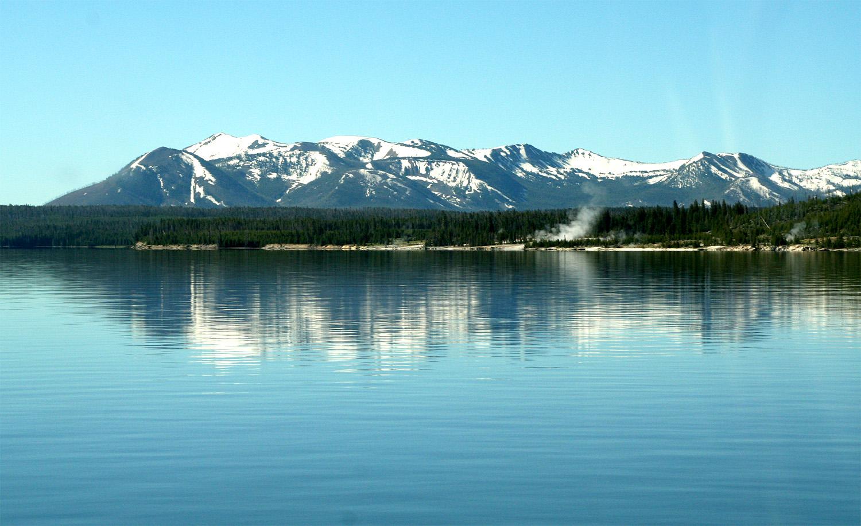 // Yellowstone Lake,Yellowstone National Park, Wyoming