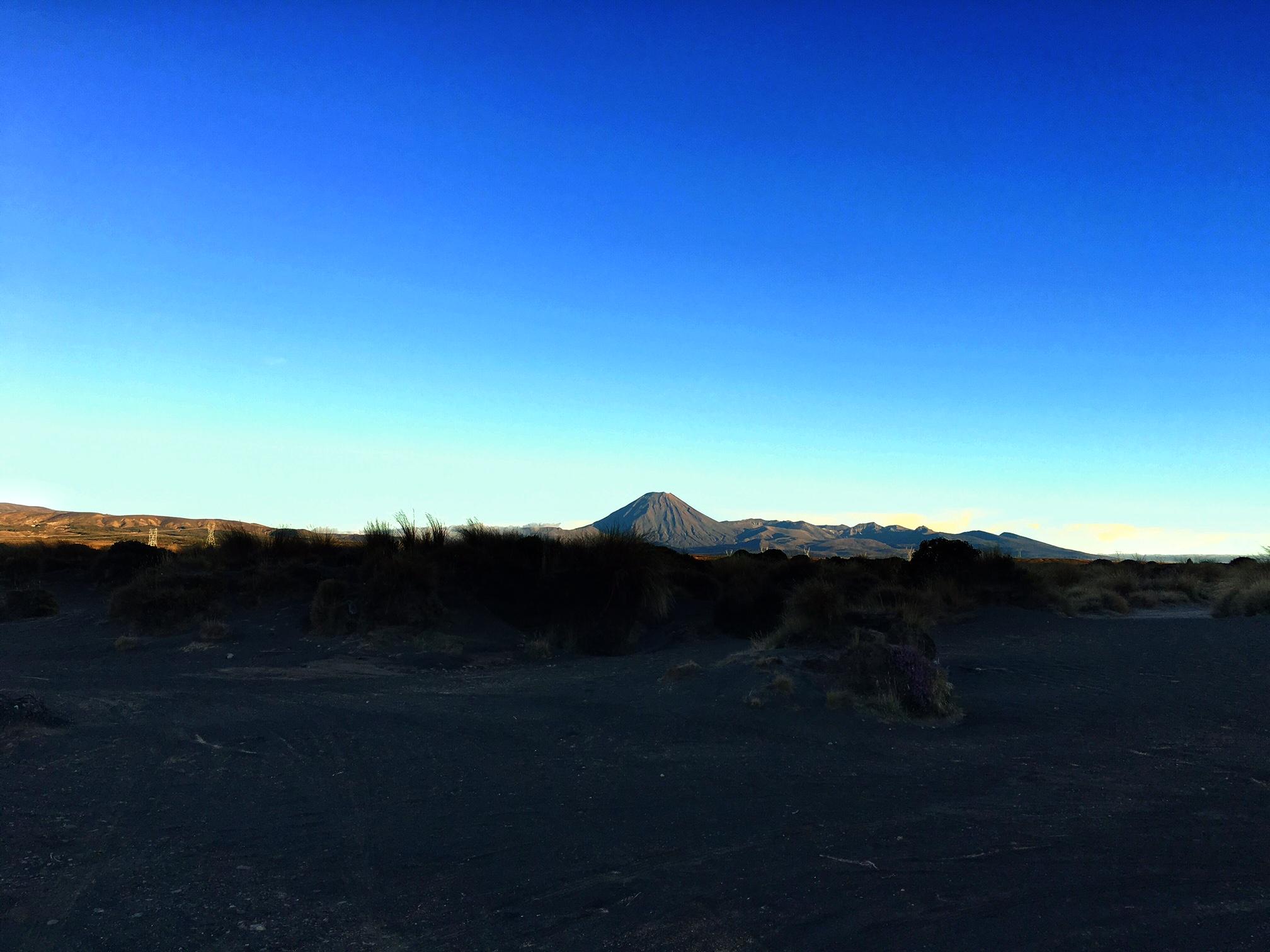 // Mt. Doom in morning light
