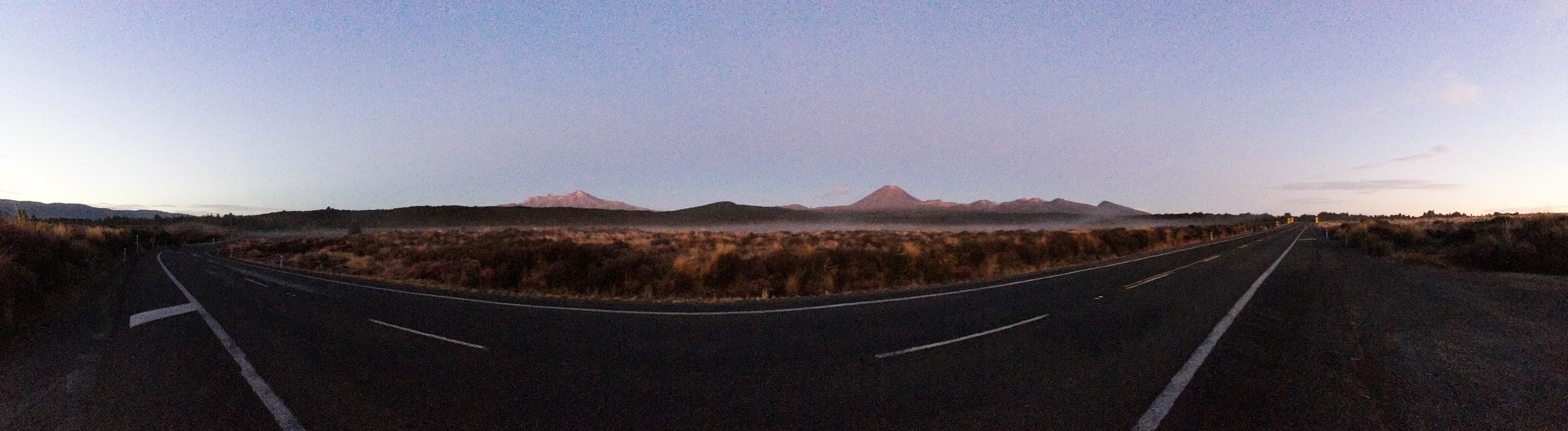 // Street view of Tingariro National Park