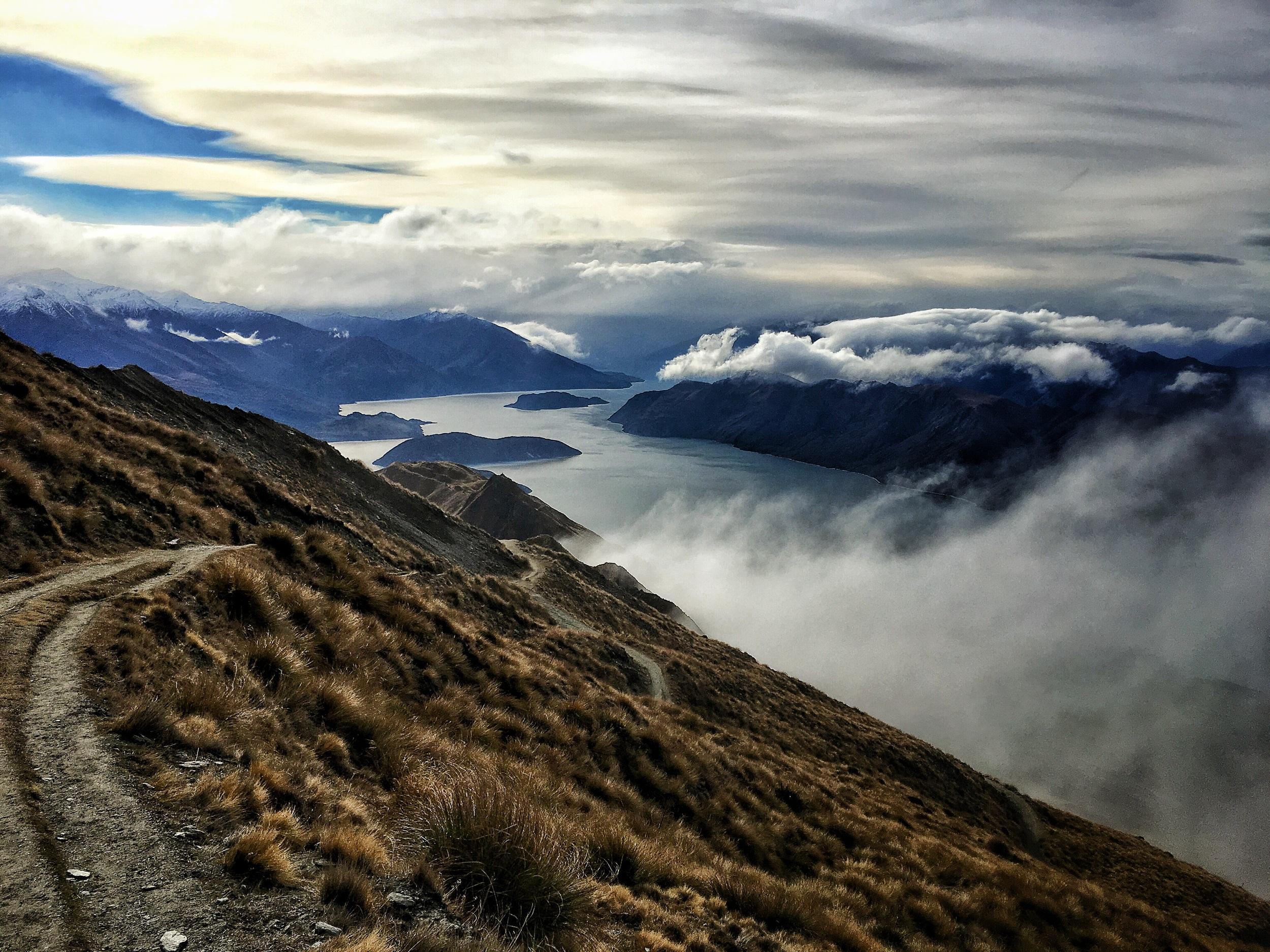 // View North over Lake Wanaka
