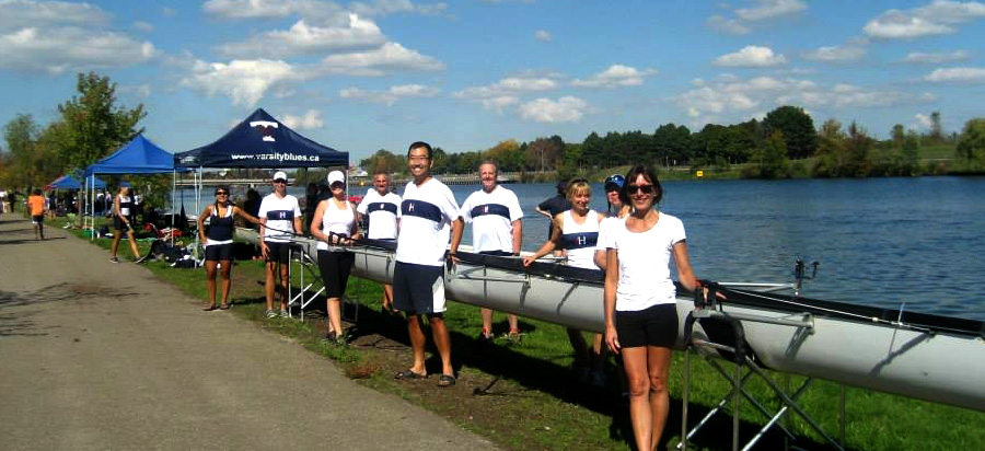 Hanlan's Rec 8 ready to rock on the Welland course.