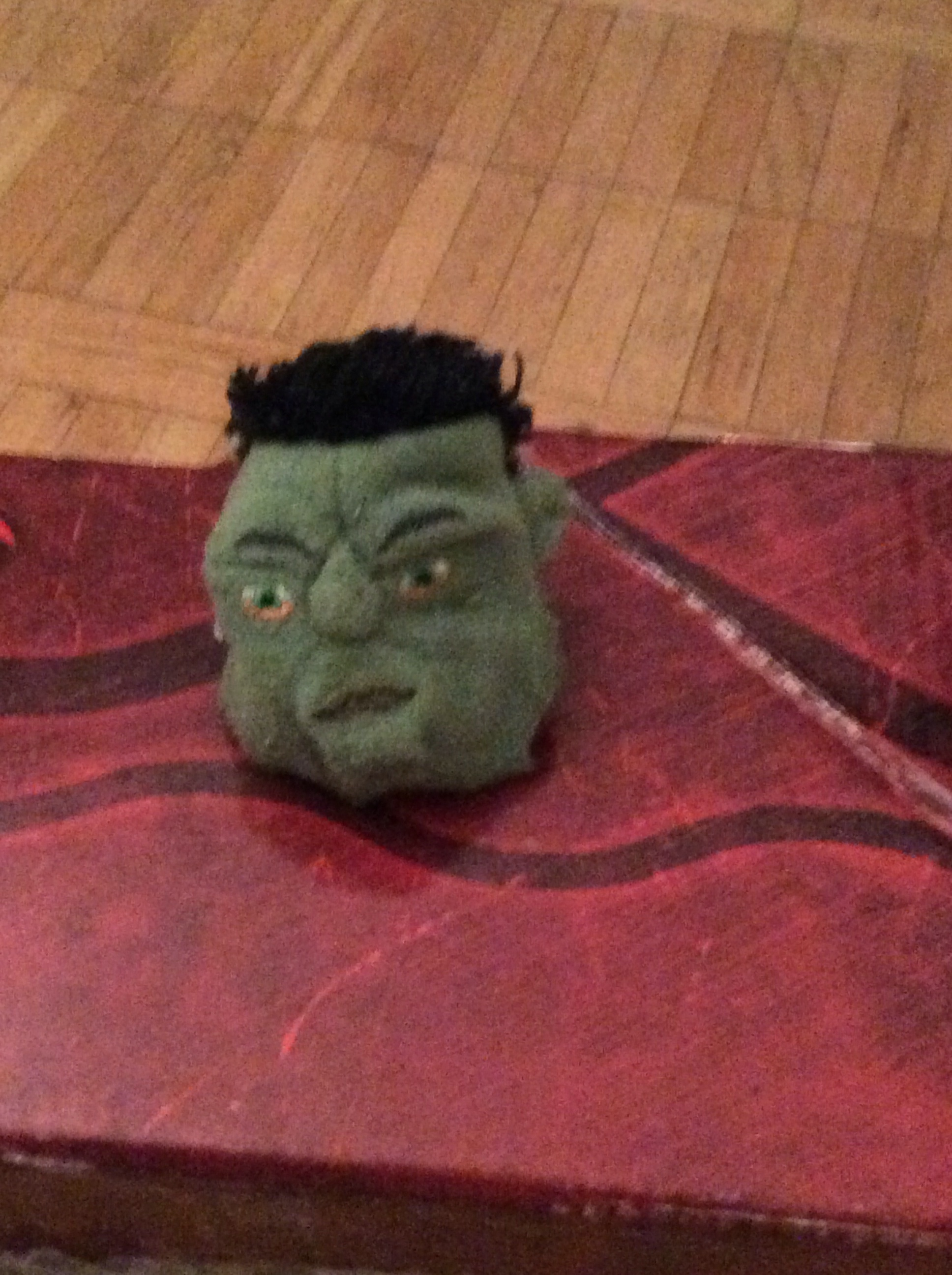 At least I'll have my mojo to help me along. Welcome aboard, Hulk.
