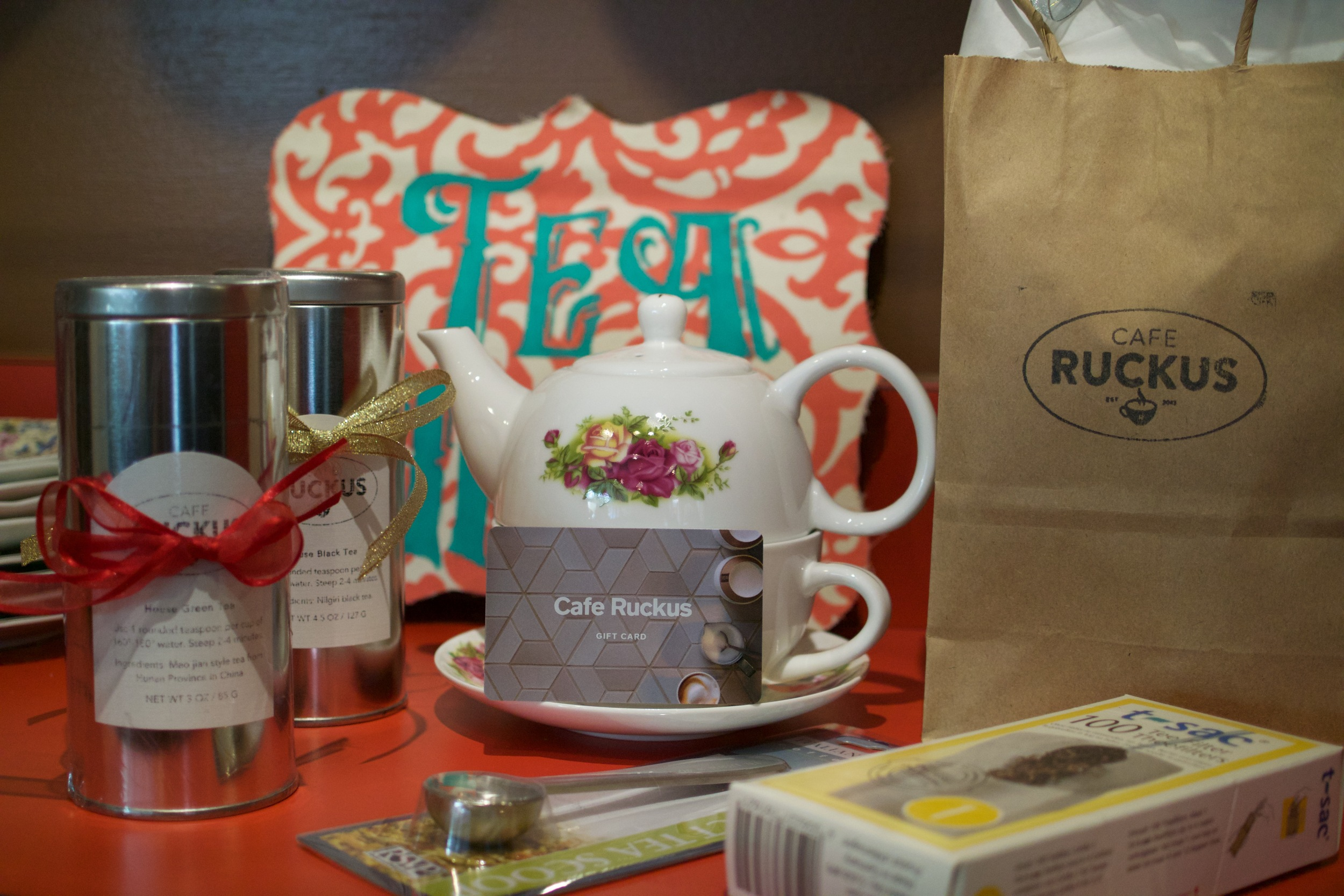 The Best Teas from Cafe Ruckus