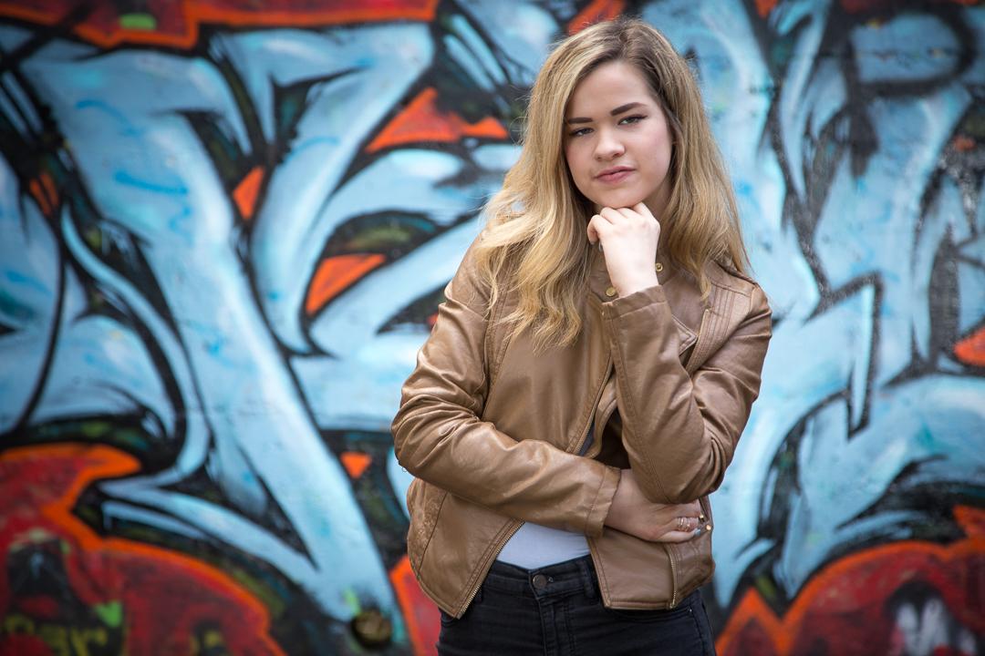 model photo shoot Courtenay