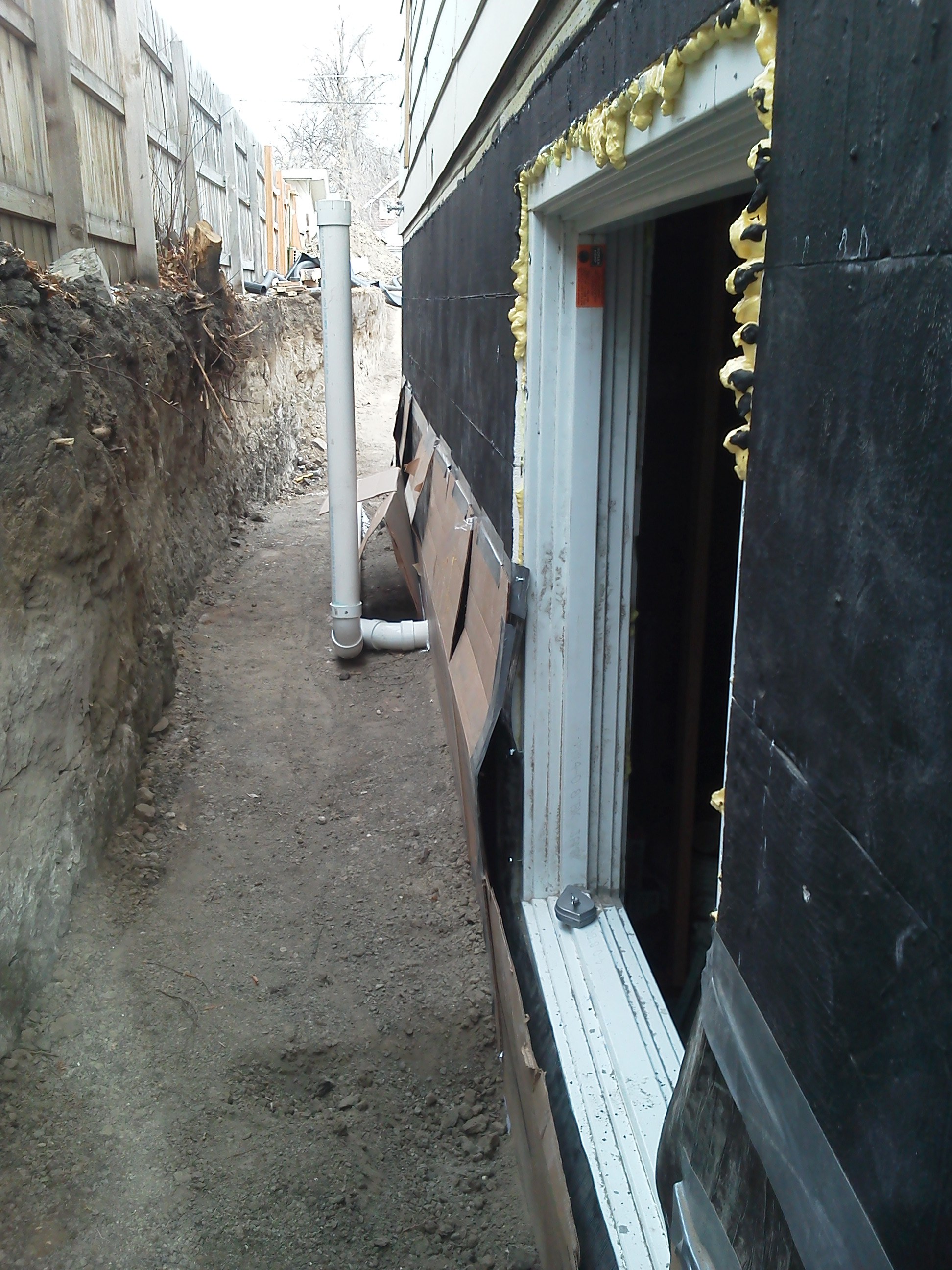 New basement dig out