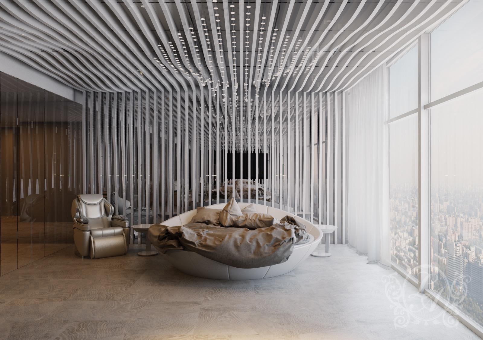 Концепция спальни №1