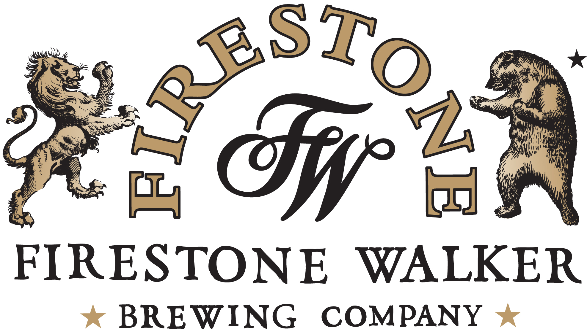 Firestone-Walker Brewing Company - Paso Robles, CA   Founded in 1996 by Adam Firestone (aka the Bear) & David Walker (aka the Lion), Firestone Walker Brewing Company began as a small brewery with roots in wine country on California's Central Coast. Now a regional brewery, our singular purpose remains – to craft ever better beer.  Passionately in pursuit of the perfect beer…and never satisfied.