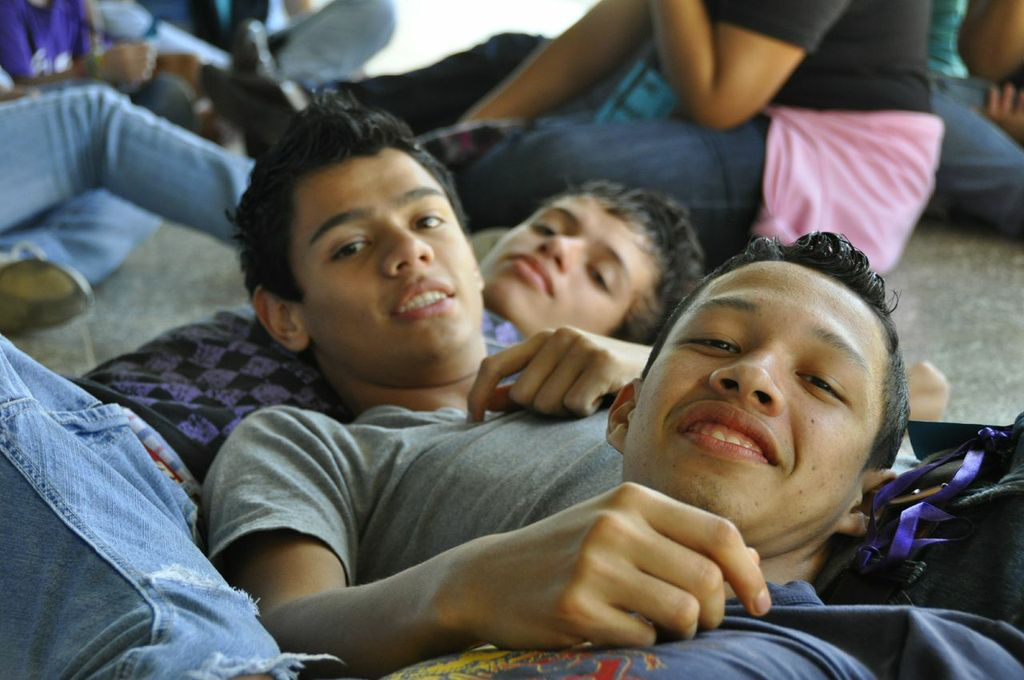 Jóvenes del programa Icthus en Honduras.