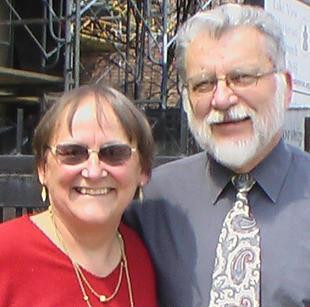 Tomas y Grace Gyori. Tom era una de las fundadores de Icthus