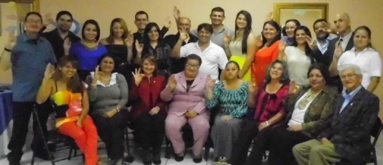 Reunión de personas que han pertenecido a Icthus a lo largo de su existencia en Costa Rica, ¡siempre con pececitos en la sangre!