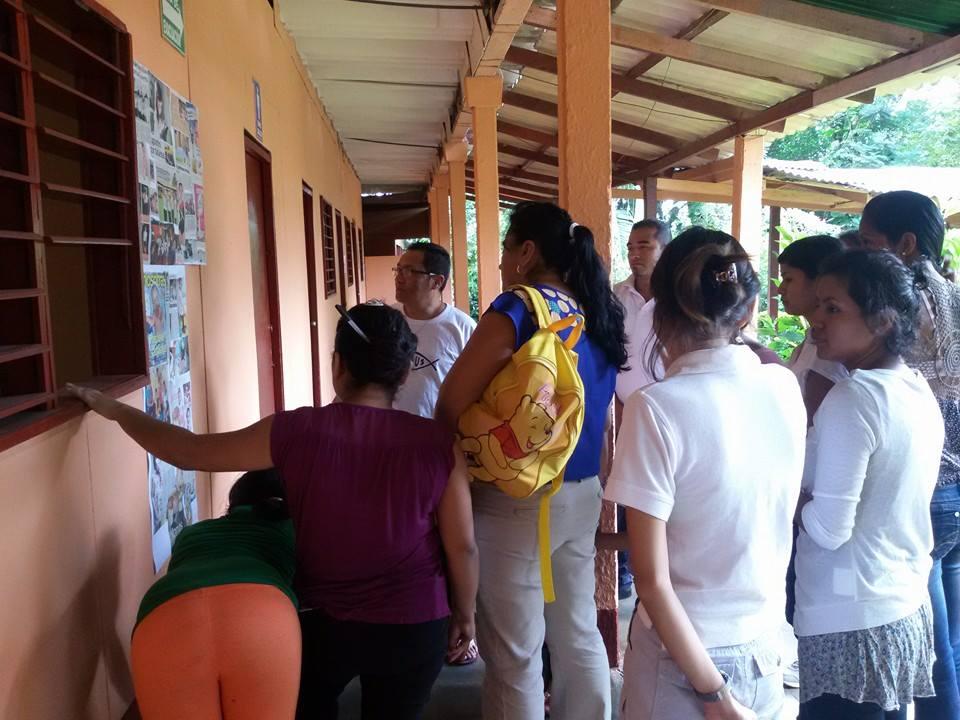 Capacitacion Icthus en Masaya Nicaragua