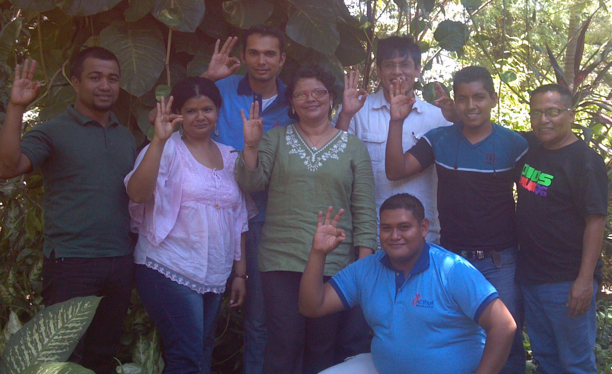 PRIMEROS PROMOTORES EN NICARAGUA