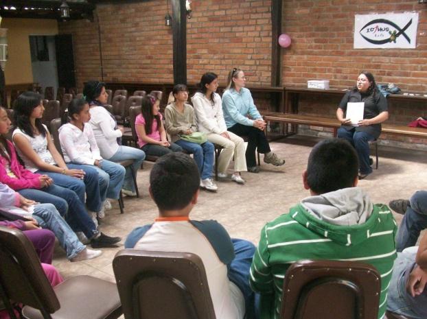 LOS MORELANDS PARTICIPARON EN LA REGUNION ICTHUS EN ECUADOR