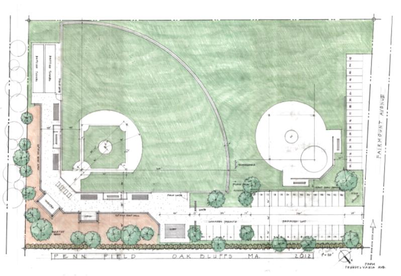 Penn Field sketch
