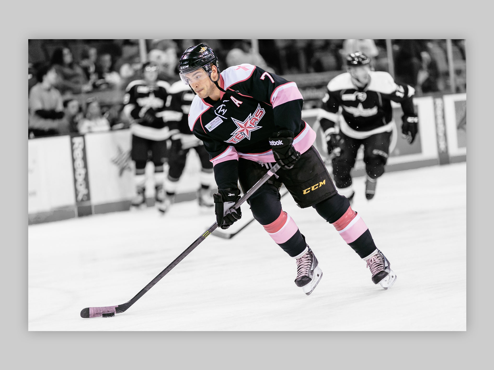Breast Cancer Awareness specialty jersey, which increased auction proceeds by 22% over the previous year.