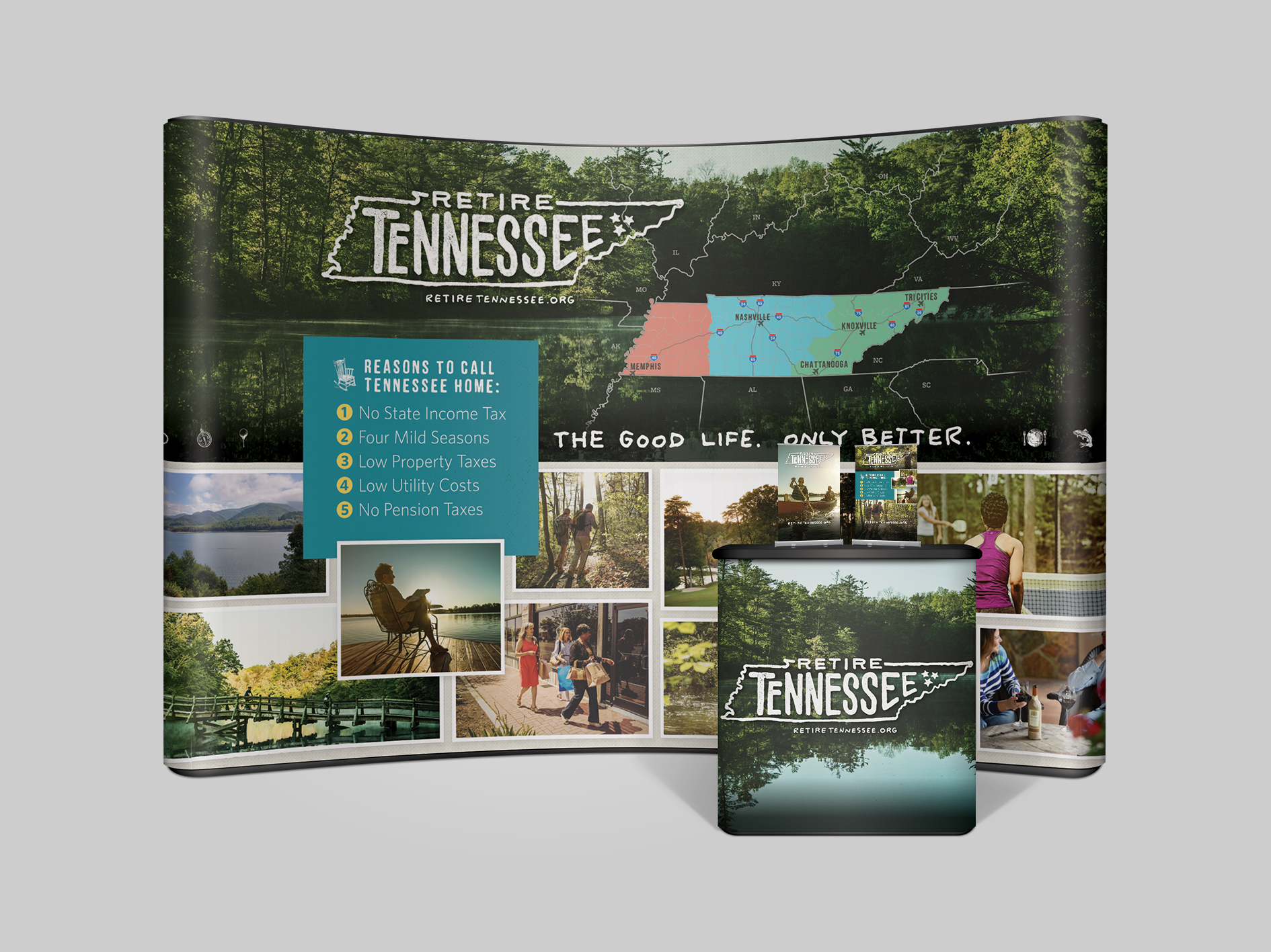 Retire Tennessee Rebrand