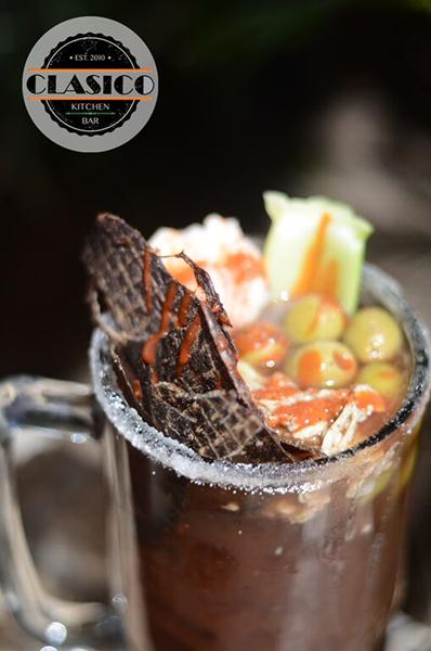 Clamatos Micheladas Clasico Kitchen Bar