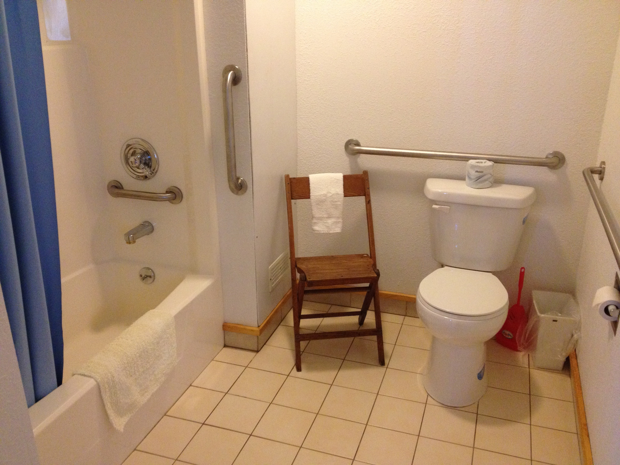 Handicap Bathroom*