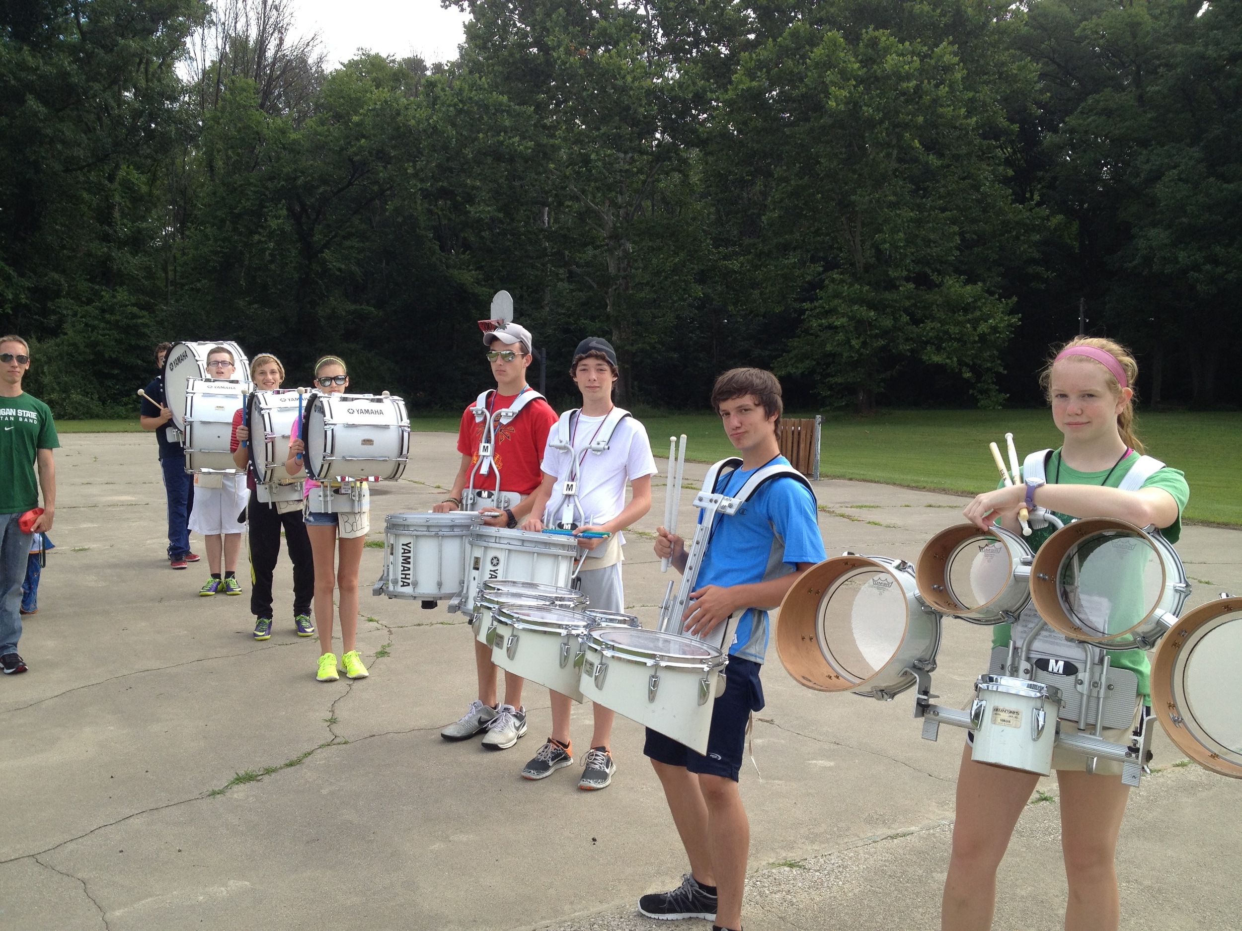 Drummer Section
