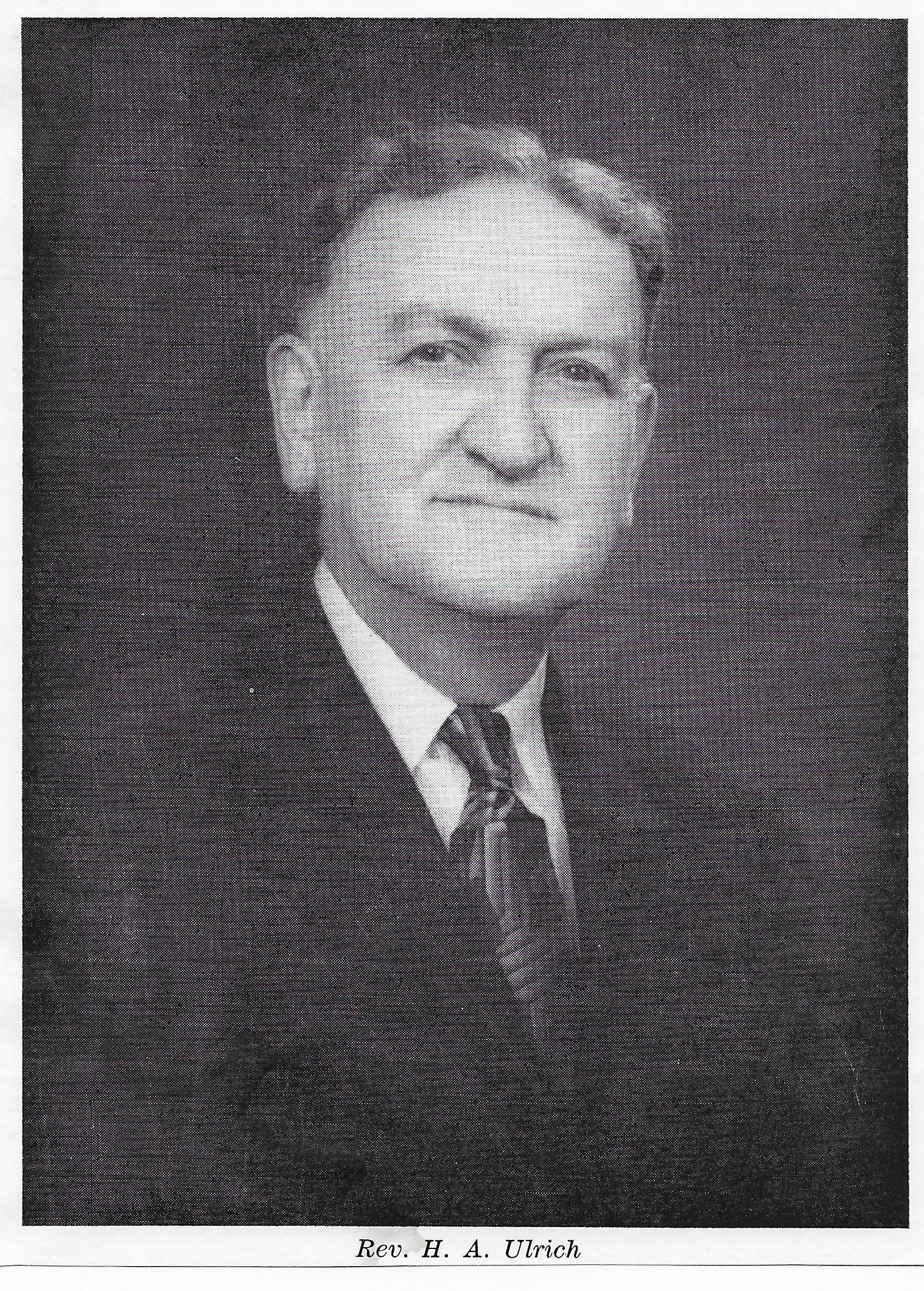 Rev. H.A. Ulrich