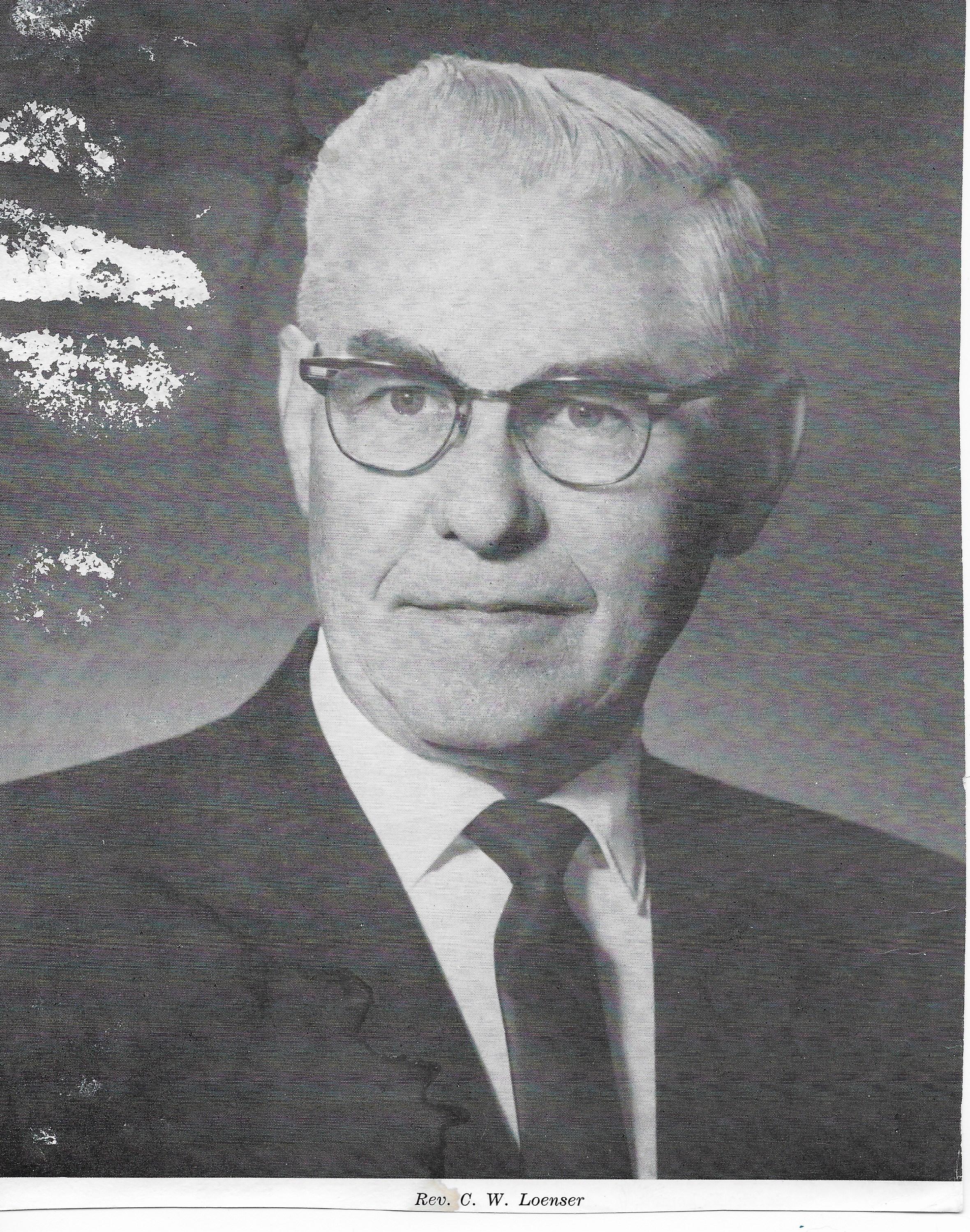 Rev. C.W. Loenser